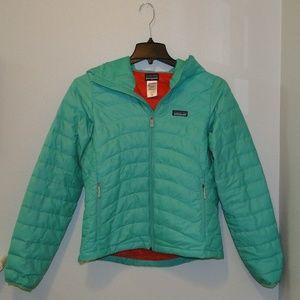 Patagonia Down Sweater Jacket.Vjosa Green. Medium